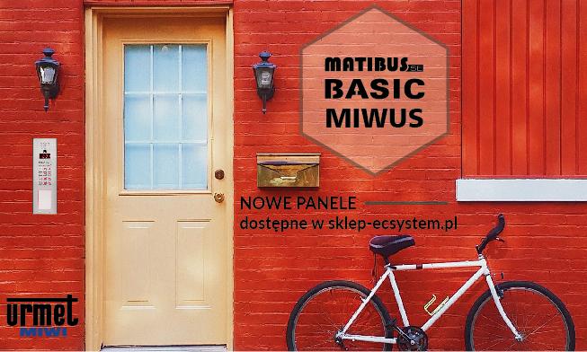 Nowe panele od MIWI URMET