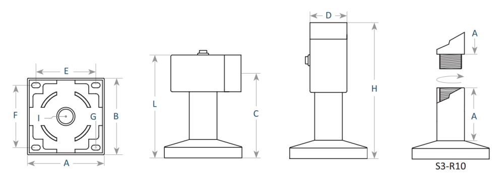 Wymiary S3-60C  - AFG