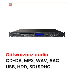 DN-300ZB - Odtwarzacz audio CD/USB/Bluetooth/tuner AM-FM/RCA/XLR
