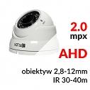 HSA852812HIRW - Kamera kopułkowa 2.0 Mpx 1080P AHD  2.8-12mm IR 40m - EIFLEX
