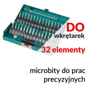 WF1389000 - Zestaw bitów do prac precyzyjnych - Wolfcraft