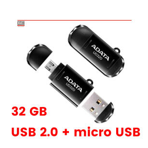 PenDrive UD320 - Pen Drive 32 GB micro USB OTG (smartfon, tablet, PC) - ADATA