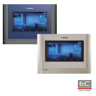 "CIOT-700ML WHITE / DARK SILVER - IP Monitor 7"" PoE - COMMAX"
