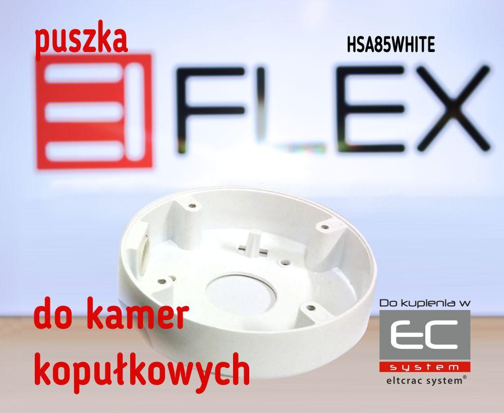 HSA85WHITE - Puszka do kamer serii EIFLEX HSA85, kolor biały - EIFLEX