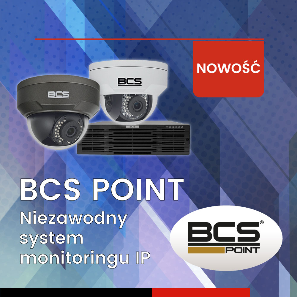 BCS POINT - kompletny system monitoringu IP