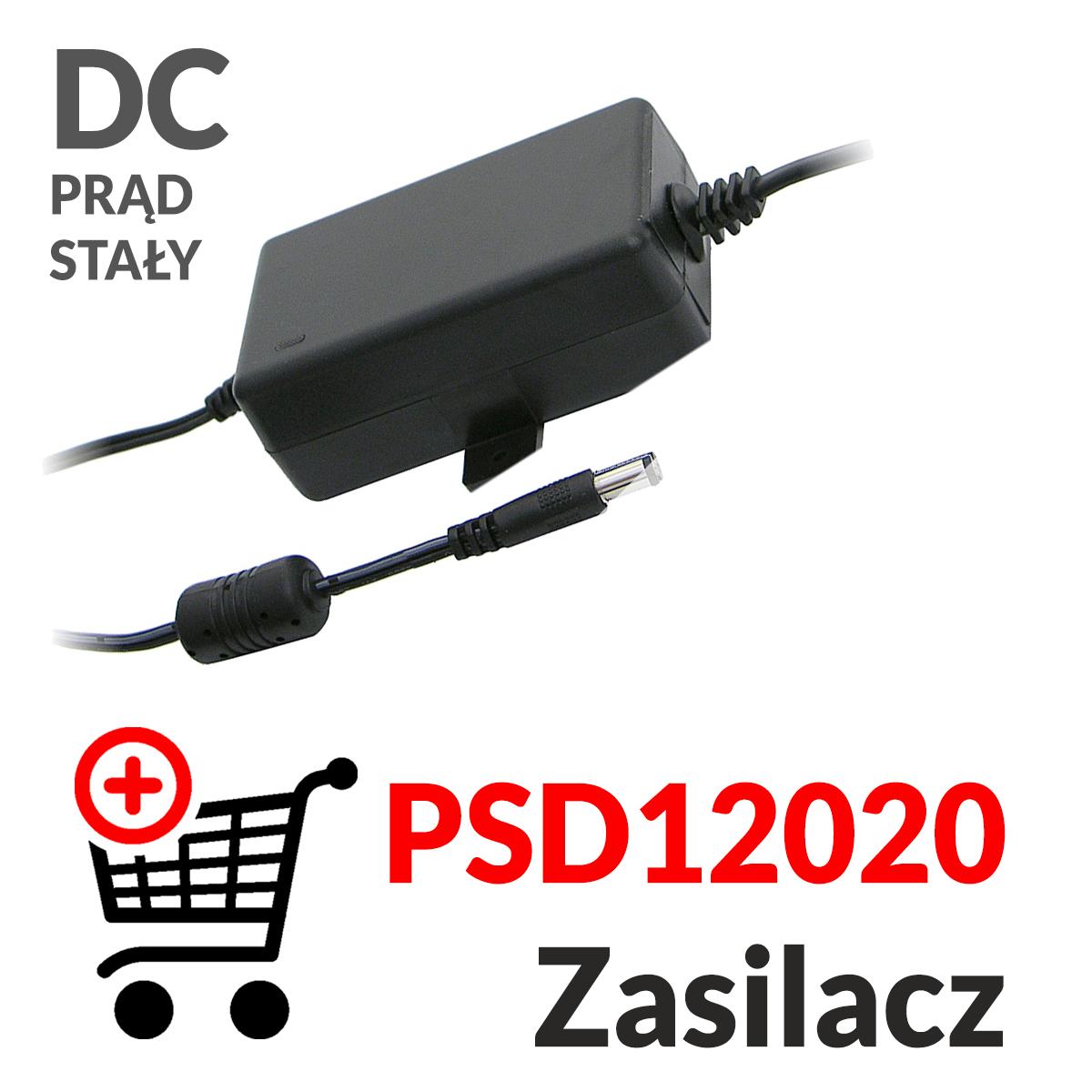 Dodaj do koszyka zasilacz prądu stałego PSD12020