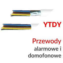 Przewody alarmowe i domofonowe