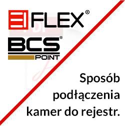 Sposób podłączenia kamer EIFLEX do rejestratora BCS POINT