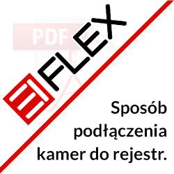 Sposób podłączenia kamer EIFLEX do rejestratora EIFLEX
