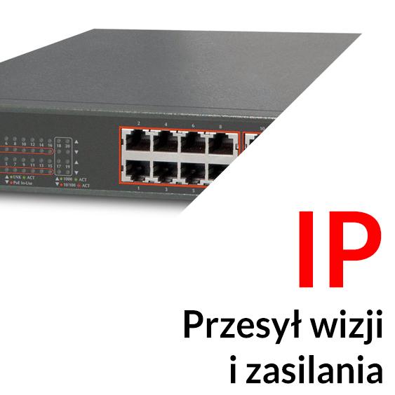 Systemy przesyłu wizji i zasilania telewizji IP